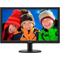 "PHILIPS V-LINE 243V5LSB 23.6"" FHD,LED BLACK"